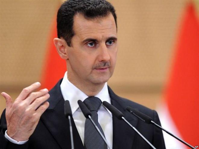 Башар Асад (c) Сергей Тихонов