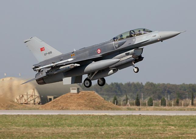 F-16 ВВС Турции