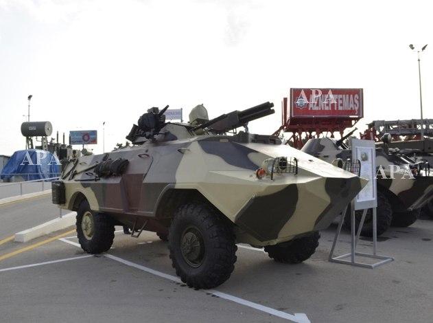 азербайджанская модернизация БРДМ-2