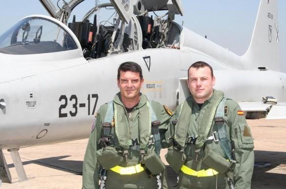 Пилот-инструктор ВВС Испании Хесус Антонио Кабальеро