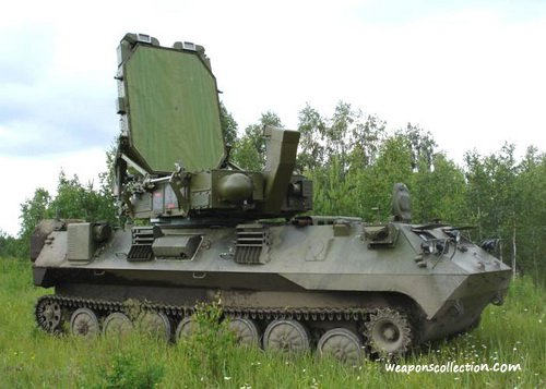РЛК разведки и контроля стрельбы Зоопарк-1