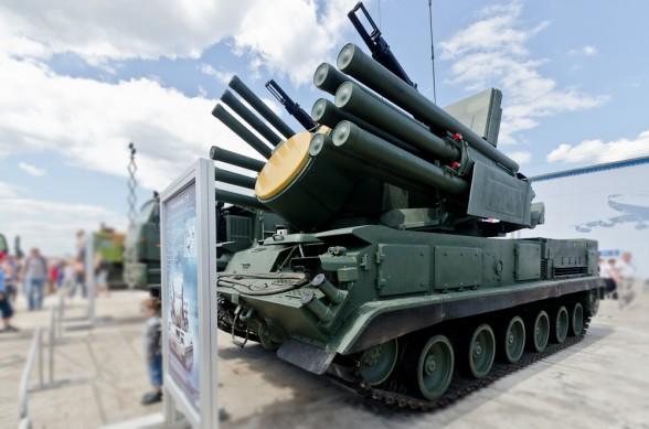 Зенитный ракетно-пушечный комплекс «Панцирь» (c) www.rostec.ru