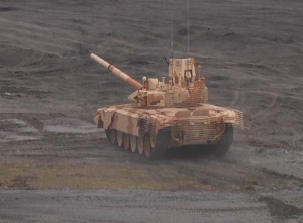 Городская модификация танка Т-72