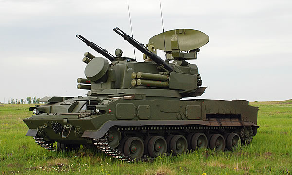 ЗСУ 2С6М1 «Тунгуска-М1»