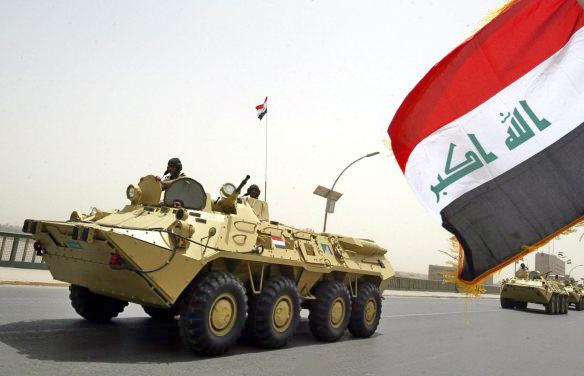 Украинские БТР-80 поставленные для ВС Ирака