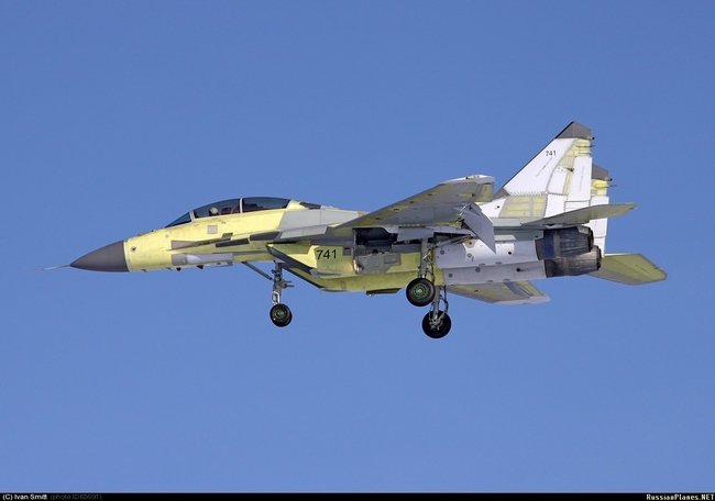 Второй МиГ-29М2 для Сирии (c) Иван Смитт/russianplanes.net