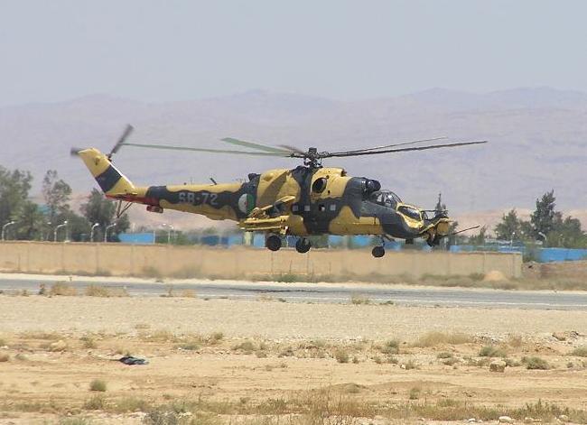 Ми-24 ВС Алжира