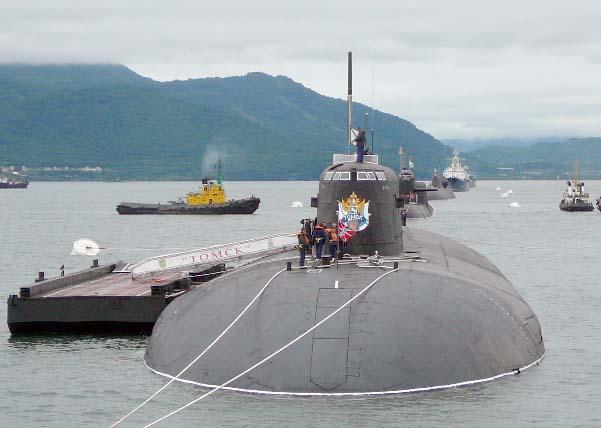 К-150(пр.949А) предположительно находится в ремонте на ОАО ДВЗ Звезда (г.Большой Камень)