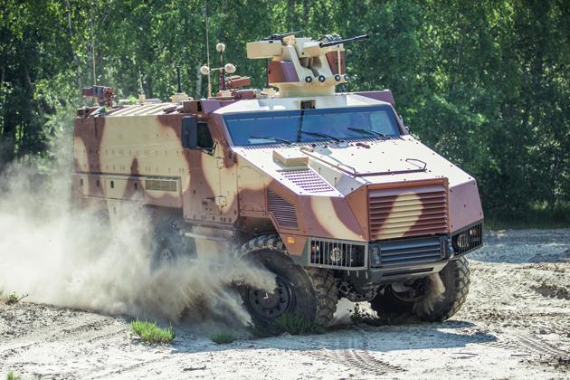 Первый образец бронированной машины Nexter TITUS (c) Nexter