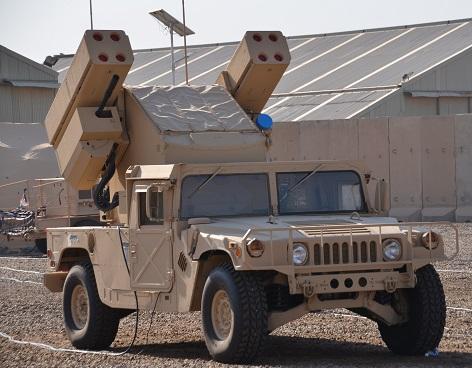 Боевая машина из состава первой полученной Ираком батареи американского ЗРК Boeing Rapid Avenger (с) www.militaryphotos.net