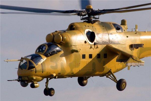 Первый Ми-35М для ВВС Ирака (c) Ми-26 / aviaforum.ru