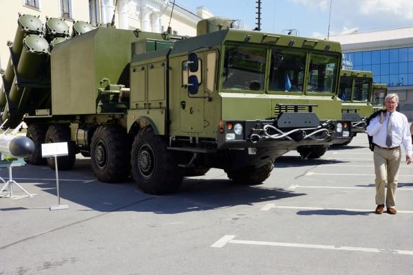 Пусковая установка ракетного комплекса Бал (c) telegrafist.org