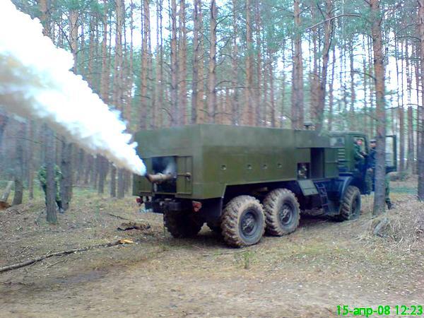 Дымовая машина ТДА-2К (c) papucha