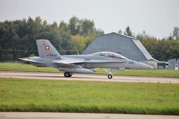 F-18 ВВС Швейцарии  (c) Виталий Кузьмин