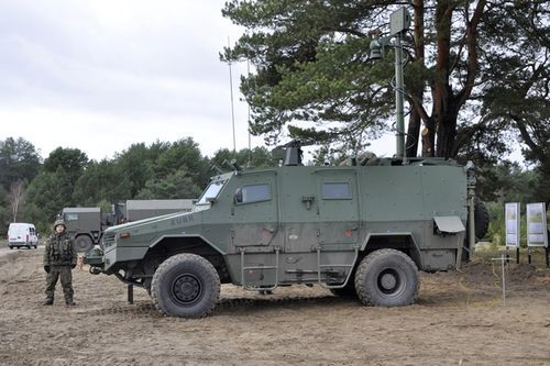 Машина артиллерийской разведки Zubr