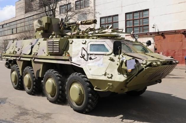 БТР-4Е ВС Ирака