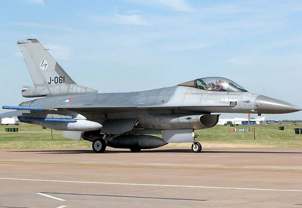 F-16  ВВС Нидерландов(c) www.airforce-technology.com