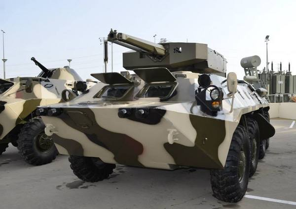 БТР-70М с модулем Simsek