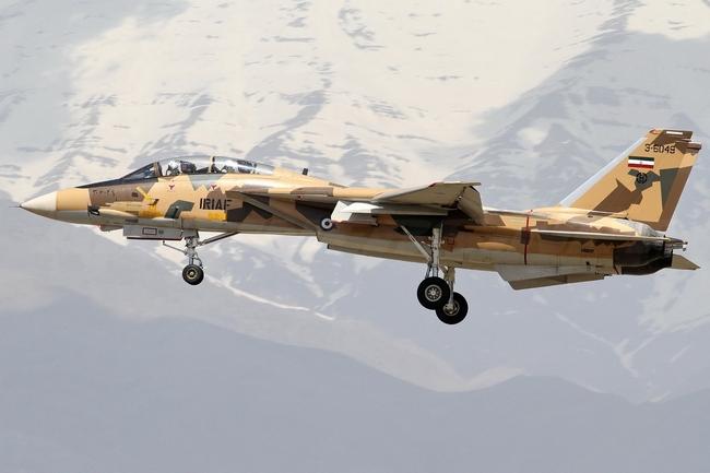Первая фотография модернизированного иранского F-14AM. Airliners.net