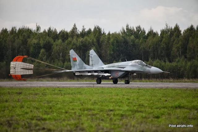 МиГ-29 ВВС Беларуси (c) samoletchik.livejournal.com