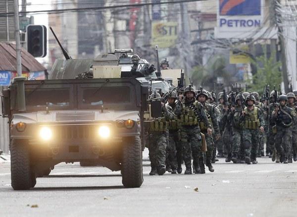 армия теснит исламистов