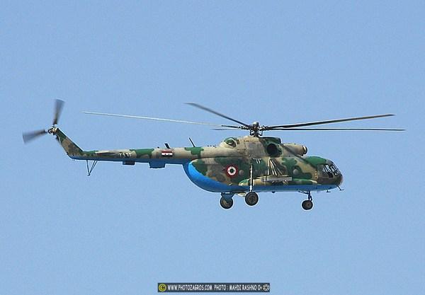 Ми-17 ВВС Сирии