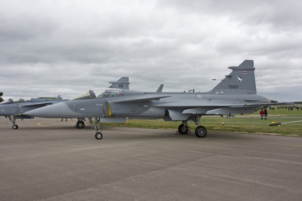 JAS 39C Gripen ВВС Таиланда (c) airheadsfly.com