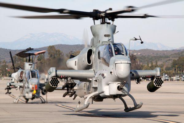 AH-1Z Cobra Корпуса морской пехоты США