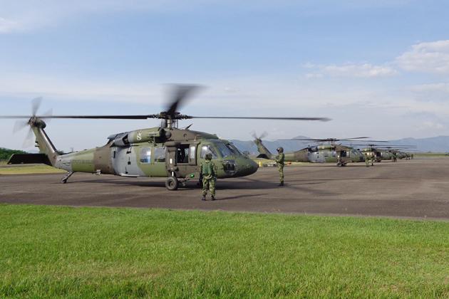 S-70i «Блэк Хоук» ВС Колумбии