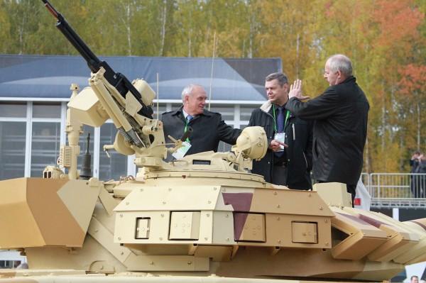 Т-72 с комплексом Арена-э