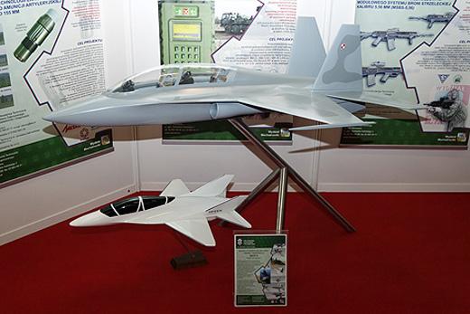 Макет самолета Grot-2