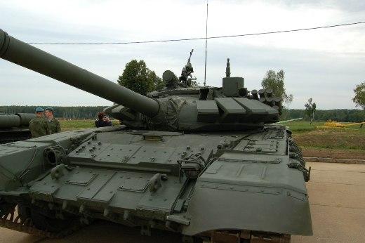 Модернизация танка Т-72