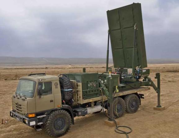 Радар системы ПРО Железный кулак
