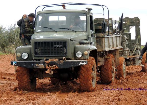 ГАЗ-3308 «Садко» в Сирии