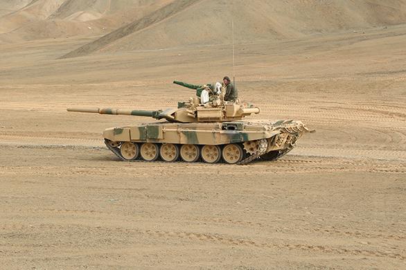 Танк Т-90С в Перу (c) uvz.ru
