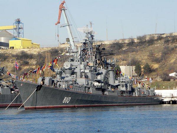 Сторожевой корабль Сметливый Черноморского флота РФ фото А.Бричевский