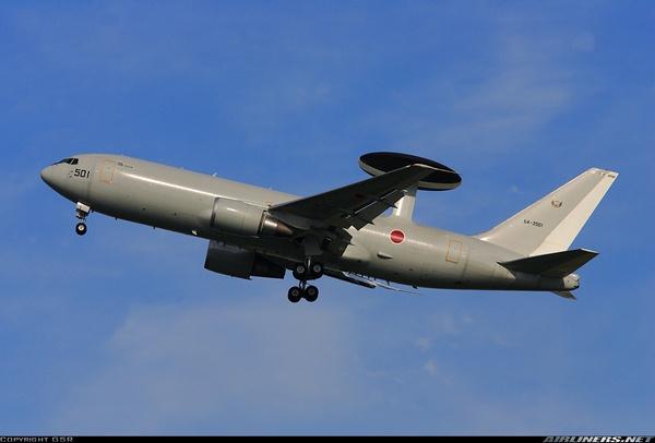 Boeing E-767 (c) GSR - SJST Spotters