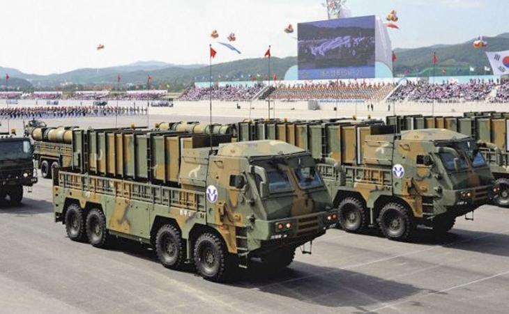 оперативно-тактический ракетный комплекс Hyunmu-2B