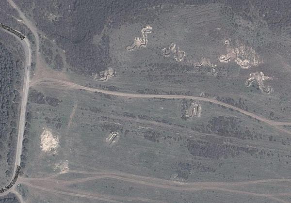 Фортификационные сооружения возле Тбилиси