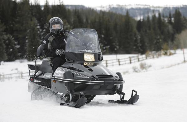 Снегоход Yamaha Viking 540 IV