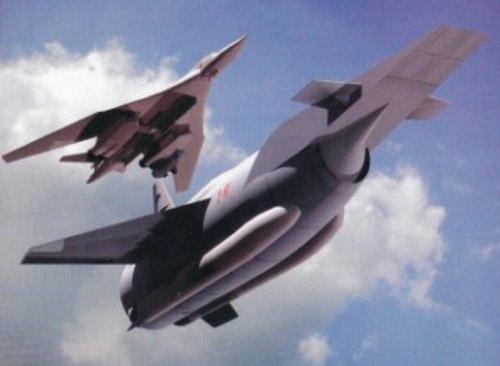 Рисунок на тему гиперзвуковой ракеты
