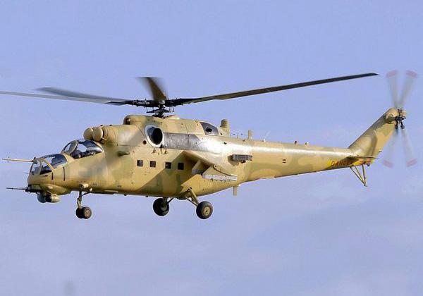 Ми-35 ВС Ирака (c) www.defence.pk