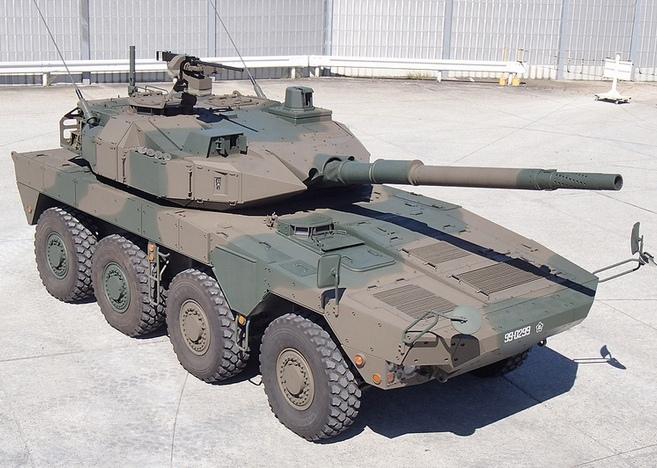 Колесный танк MCV