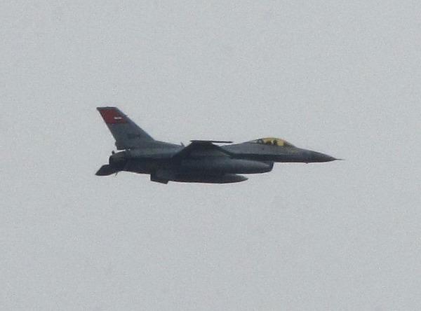 F-16 ВВС Египта над Каиром