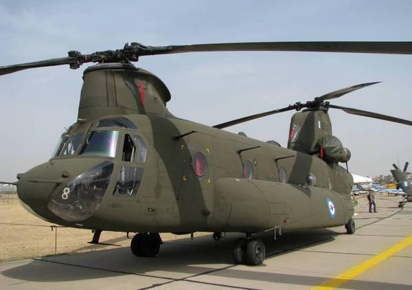 CH-46D «Чинук» ВС Греции