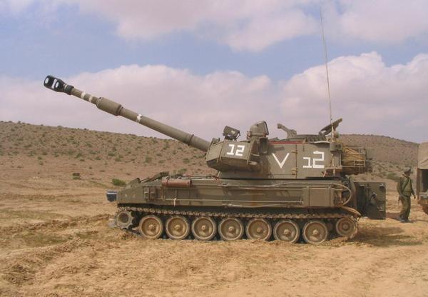M109 ВС Израиля