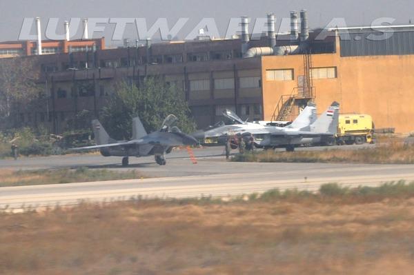 МиГ-29 ВВС Сирии