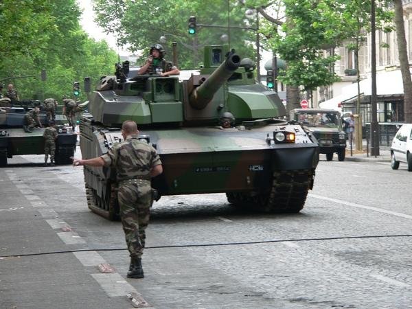 Танк Leclerc (c) David Monniaux