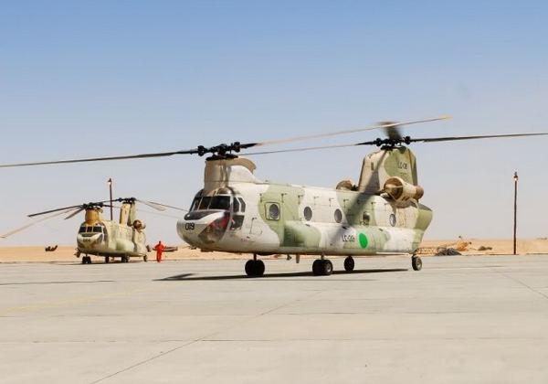 CH-47 ВС Ливии