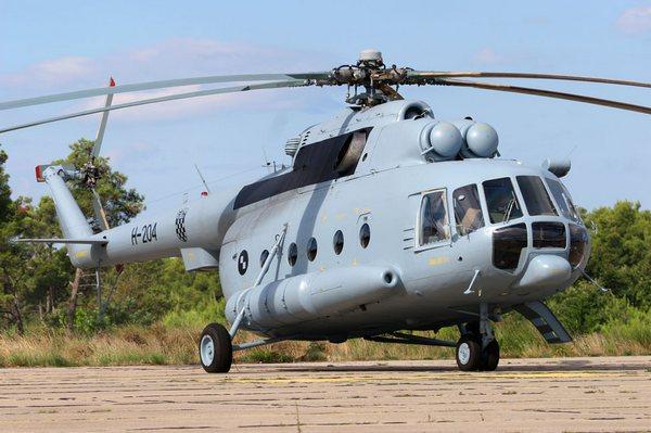 Ми-8МТВ ВС Хорватии